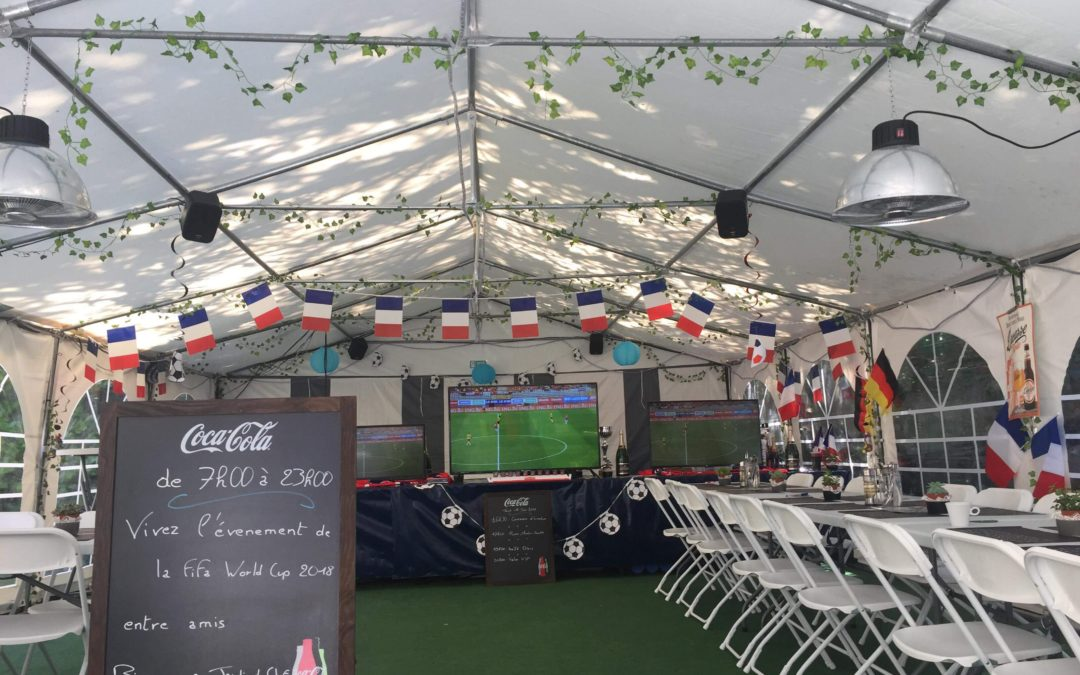 La Coupe du Monde de Football 2018 a commencé !